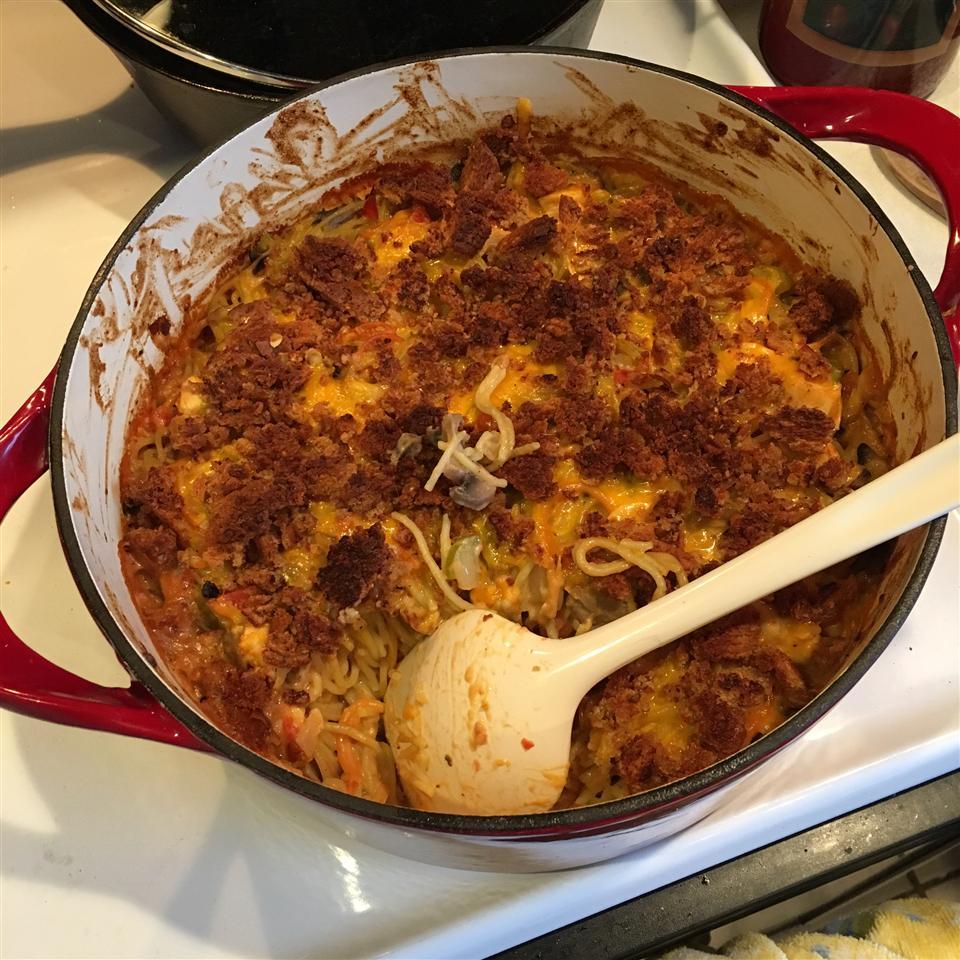 Baked Chicken Spaghetti
