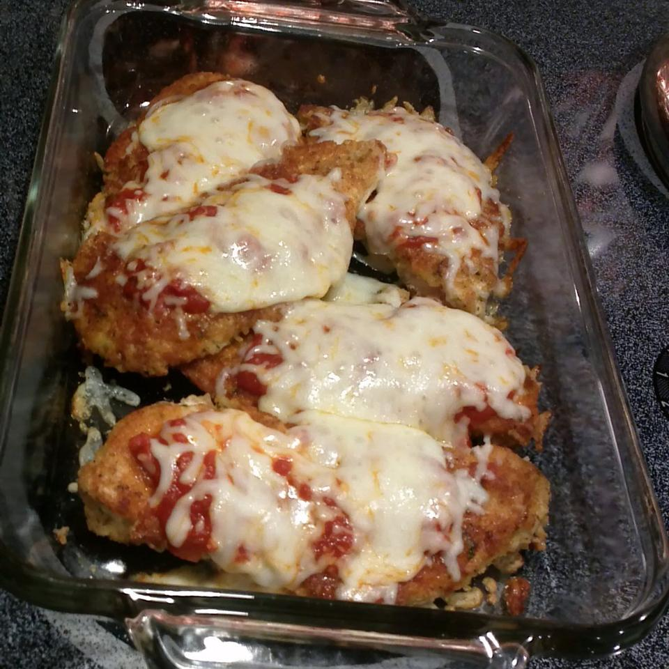 Weeknight Baked Chicken Parmesan Anny
