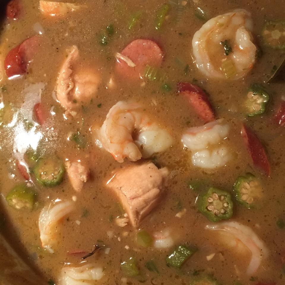 Merwin's Shrimp Gumbo