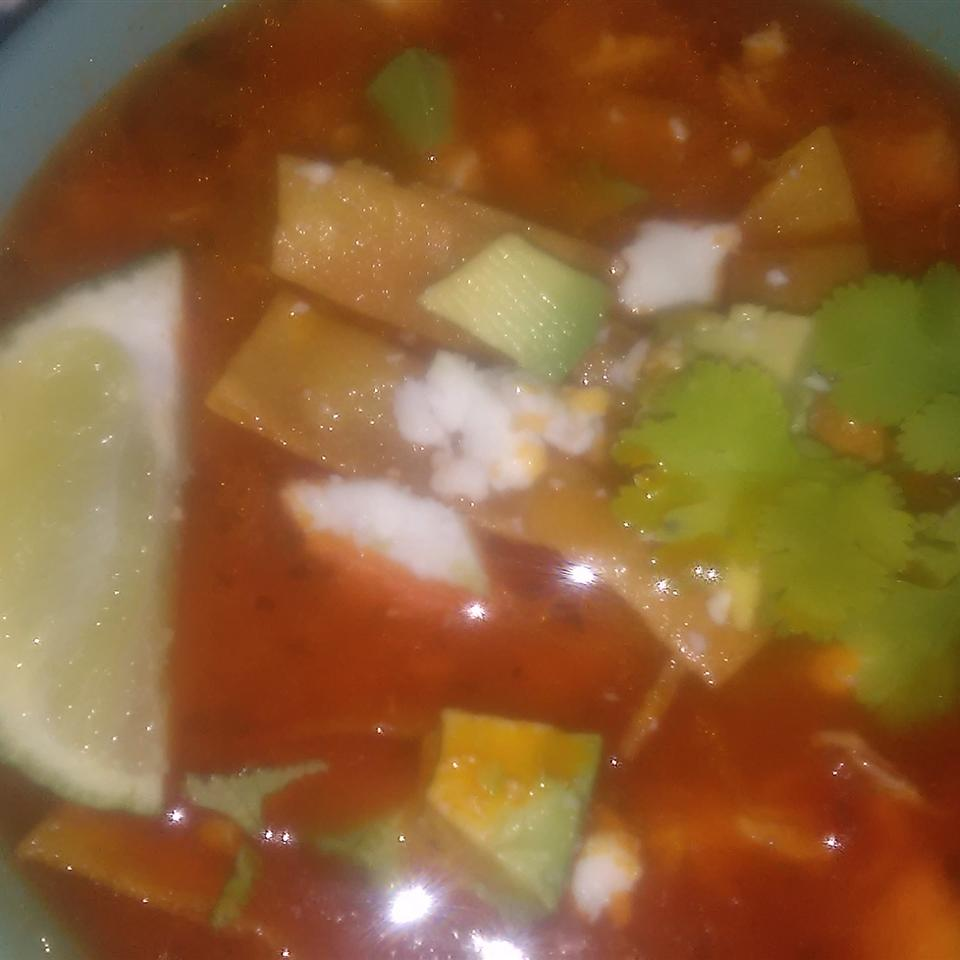 Chicken Tortilla Soup II Gemini cook