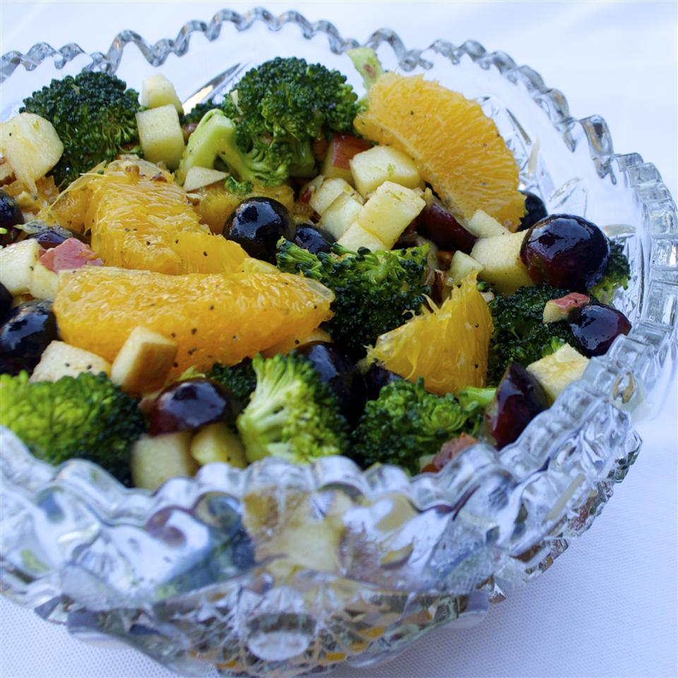 Fruit and Broccoli Buffet Salad Crystal