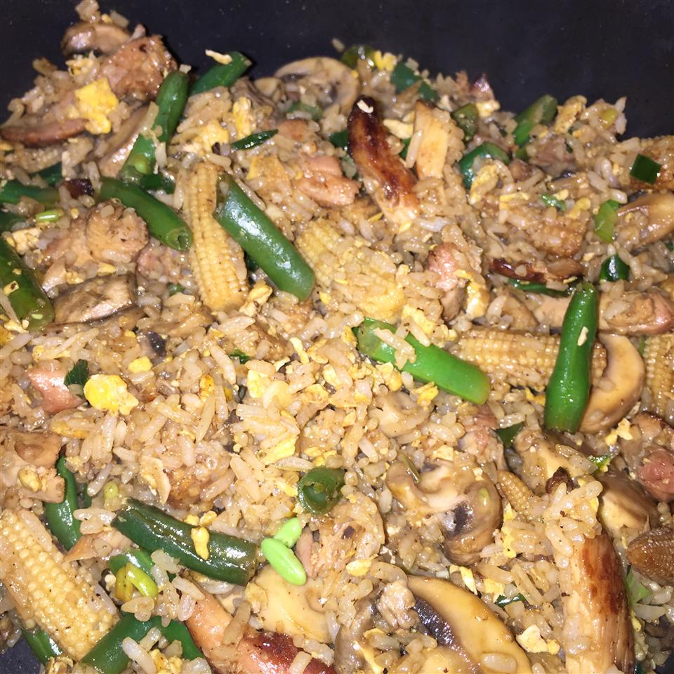 Hibachi-Style Fried Rice vegasveronica