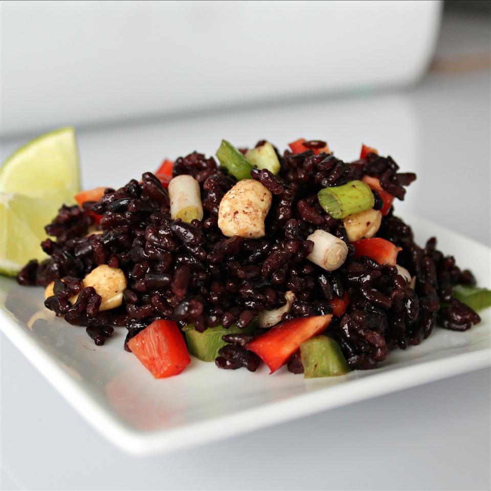 Spicy Forbidden Rice Salad