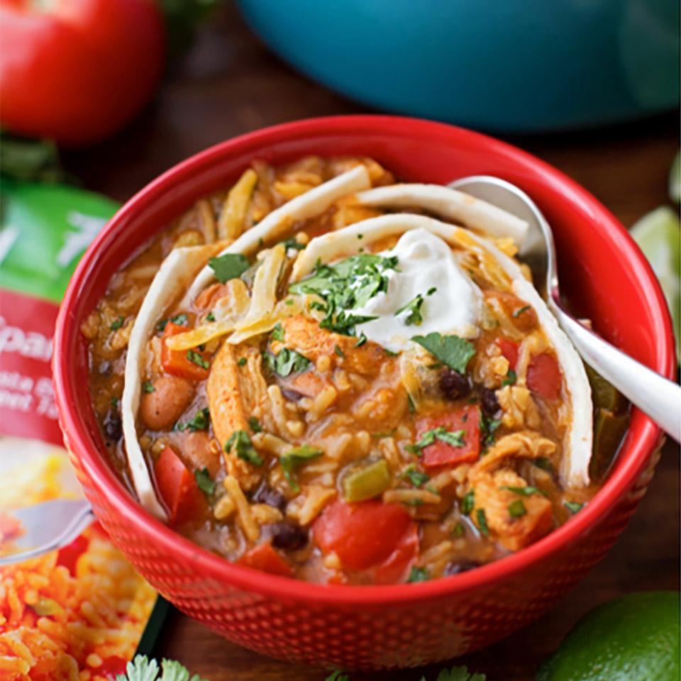 Fajita Chili with Knorr Rice Sides Lil' Luna