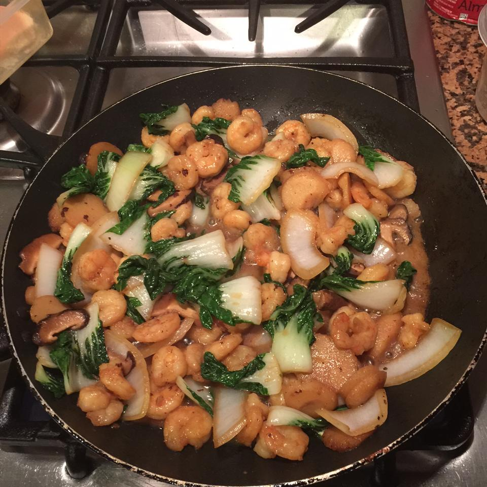 Asian Bok Choy Stir Fry Anonymous