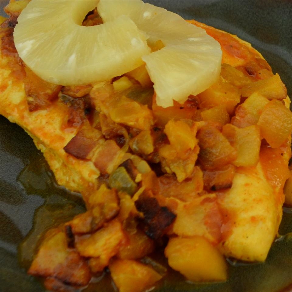 Pineapple and Chicken Curry ANGELA97303