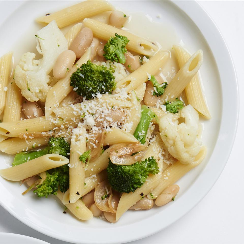 Whole-Family Pasta with Broccoli and Cauliflower ChefBillT