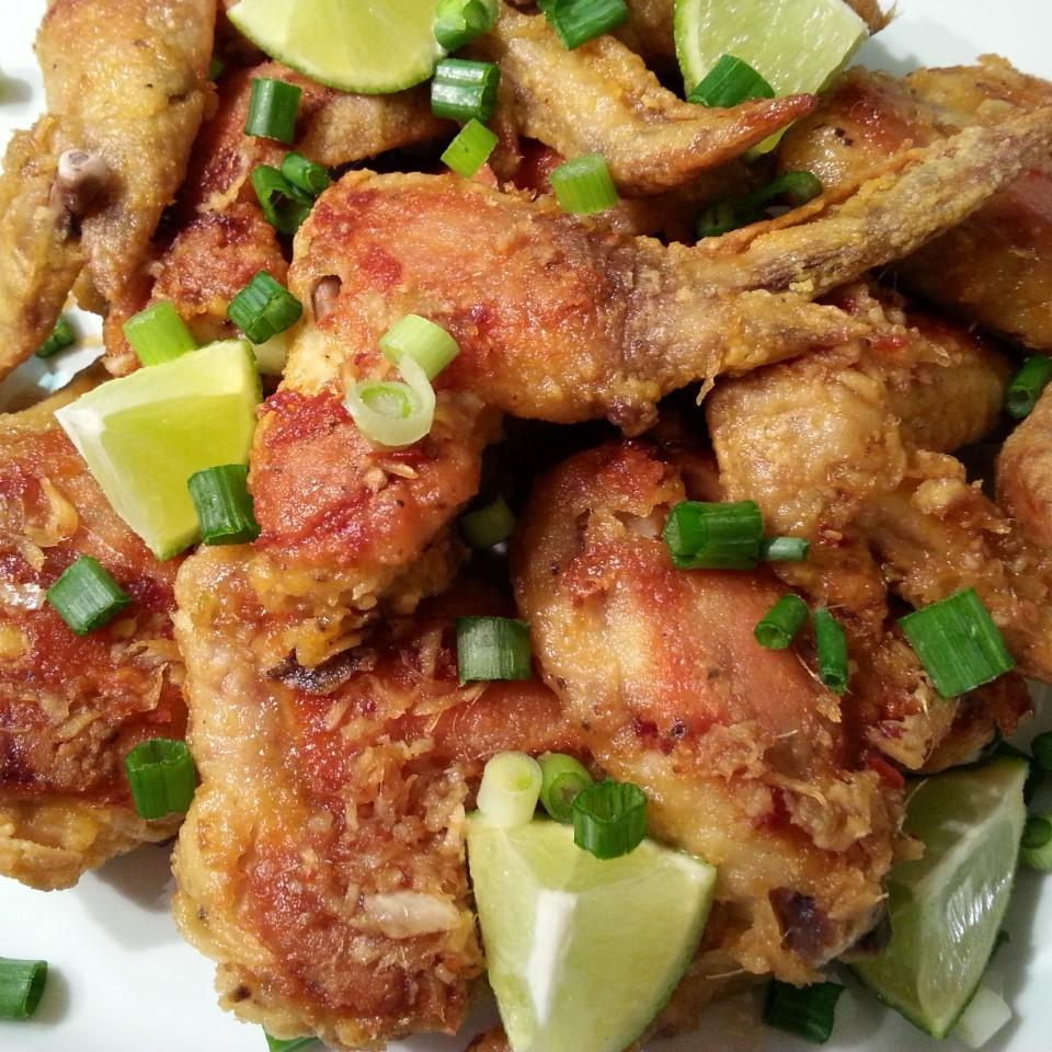 Garlic-Ginger Chicken Wings I_like_Puppies