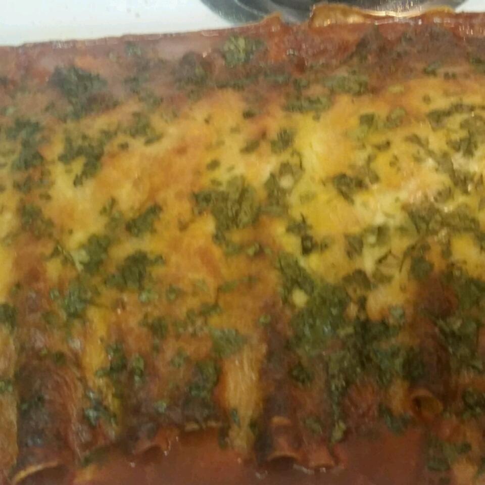 Chicken Enchiladas with Sour Cream Molly Emerick