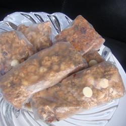 Chewy Chocolate Chip Granola Bars House of Aqua
