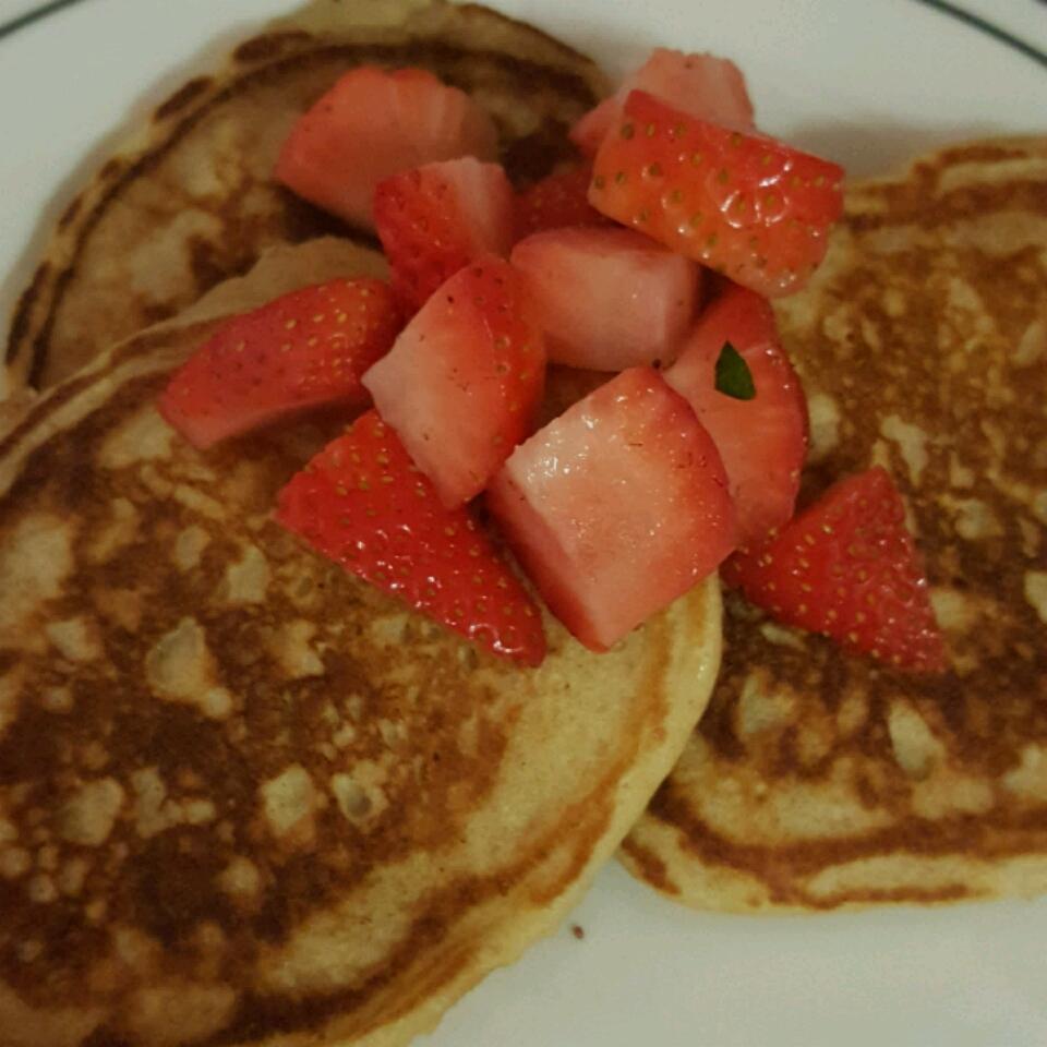 Whole Wheat Pancakes Eve Coles
