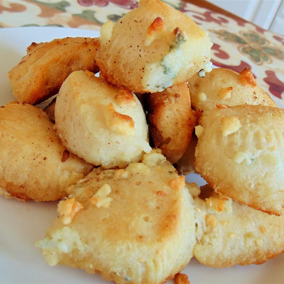Blue Cheese Biscuit Bites