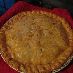 Ham and Onion Pie Marcella