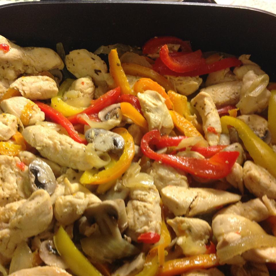Chicken Fajitas from Mazola(R) Deborah Covedill Norrod