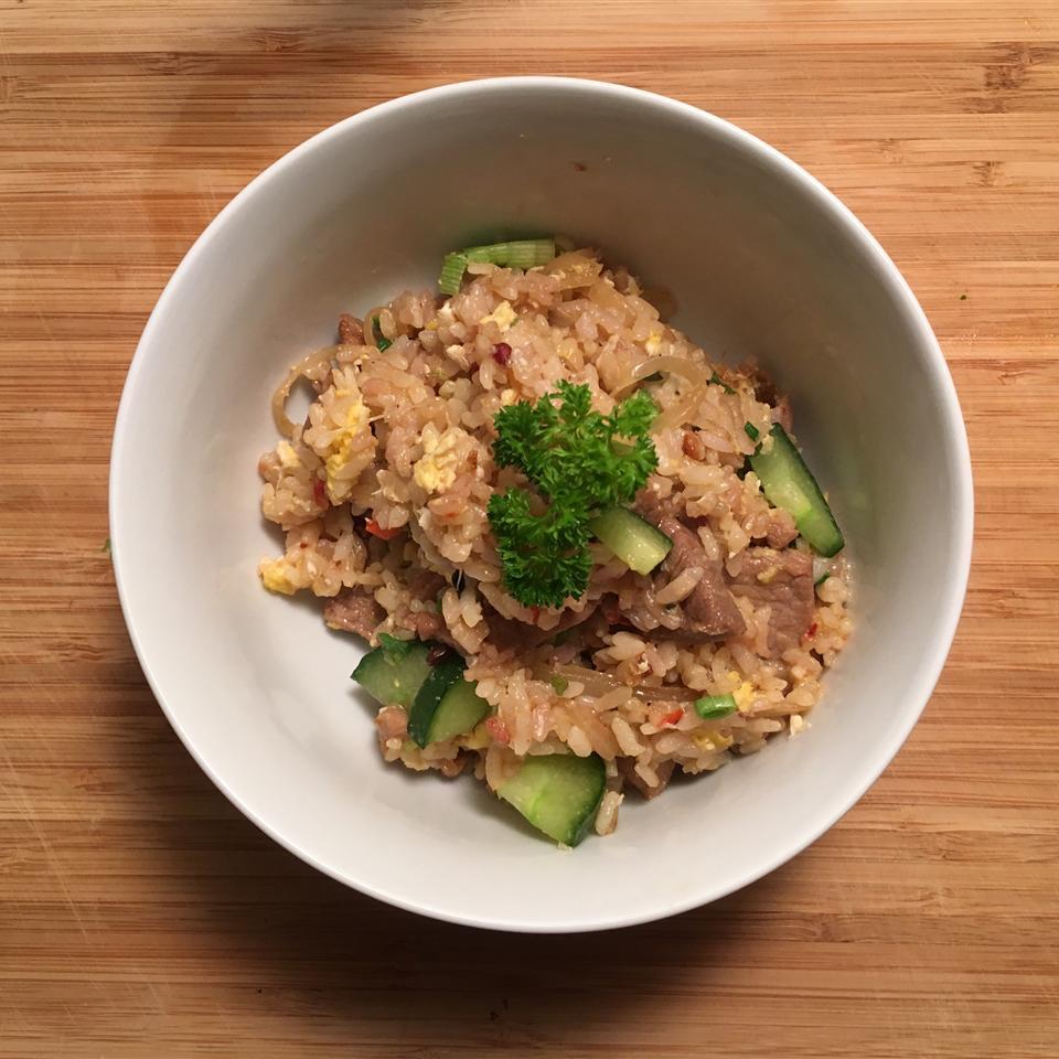Thai Spicy Basil Chicken Fried Rice Judy Leung