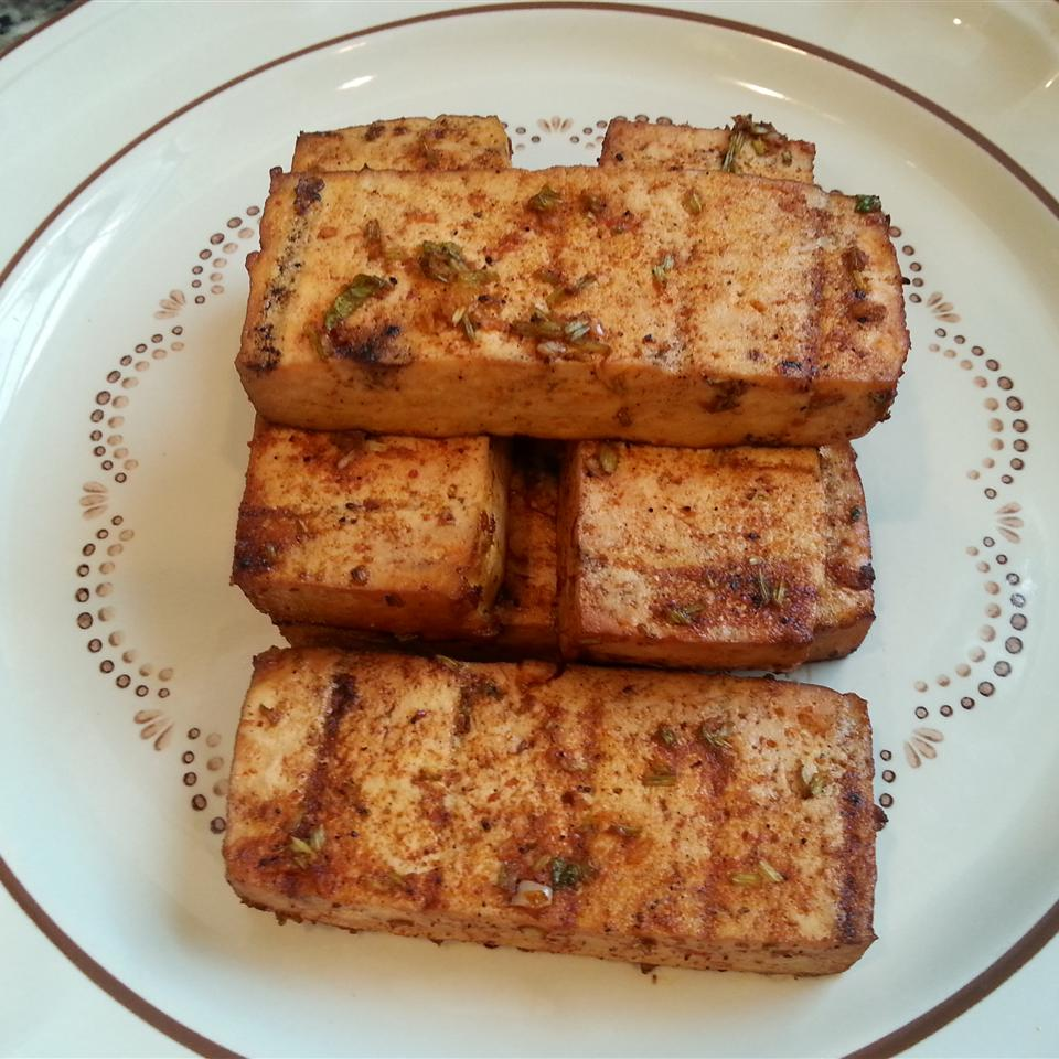 Cilantro Lime Grilled Tofu just_jam