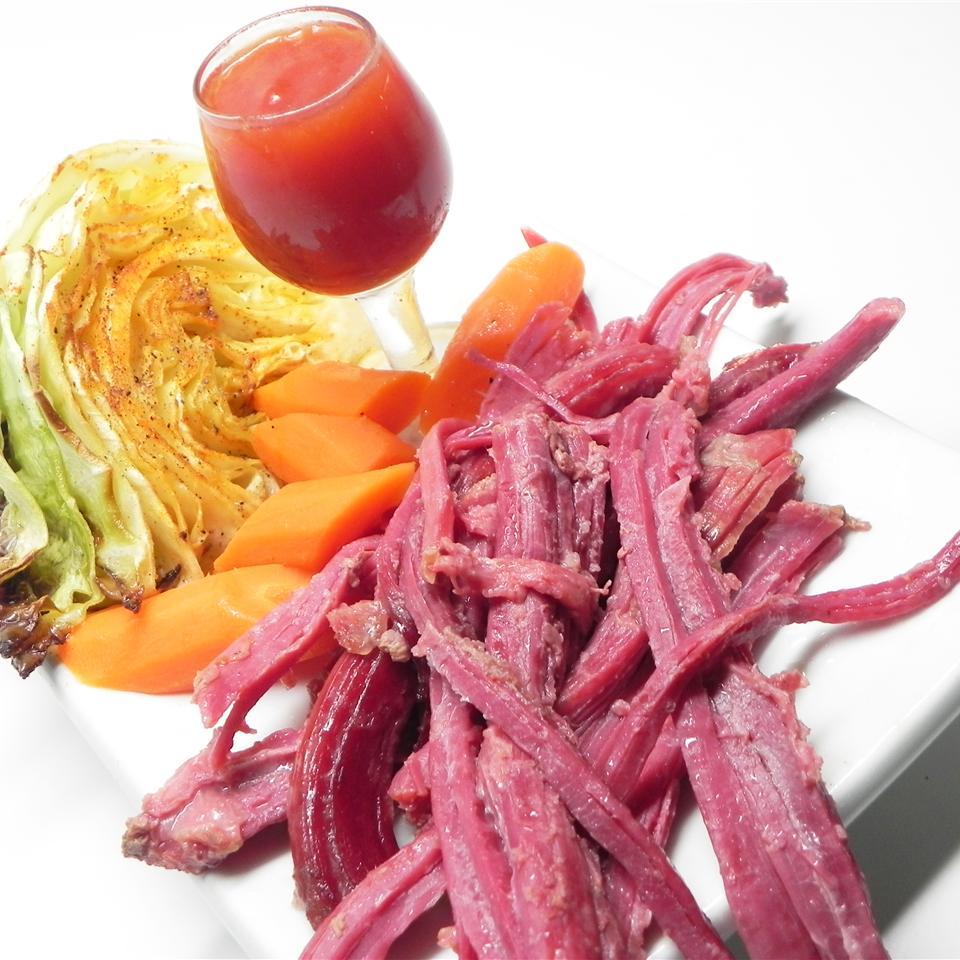 Slow Cooker Corned Beef-Style Brisket image
