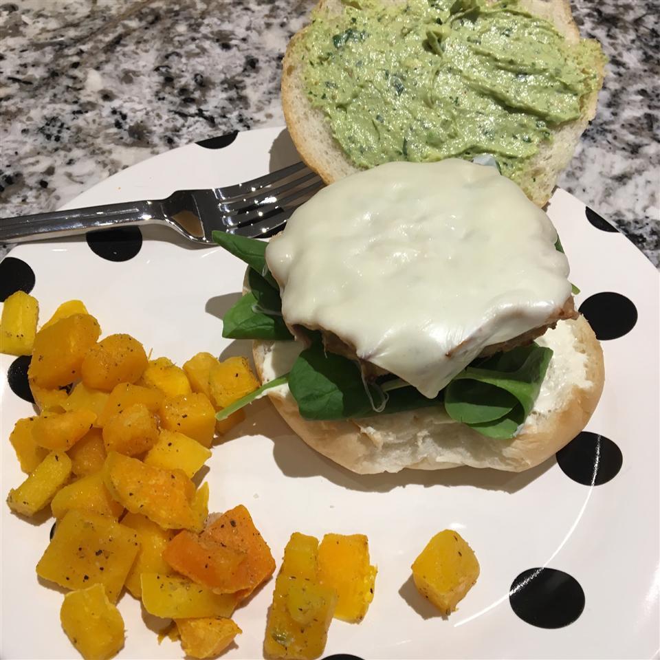 Green Chili Chicken Burgers Dayna