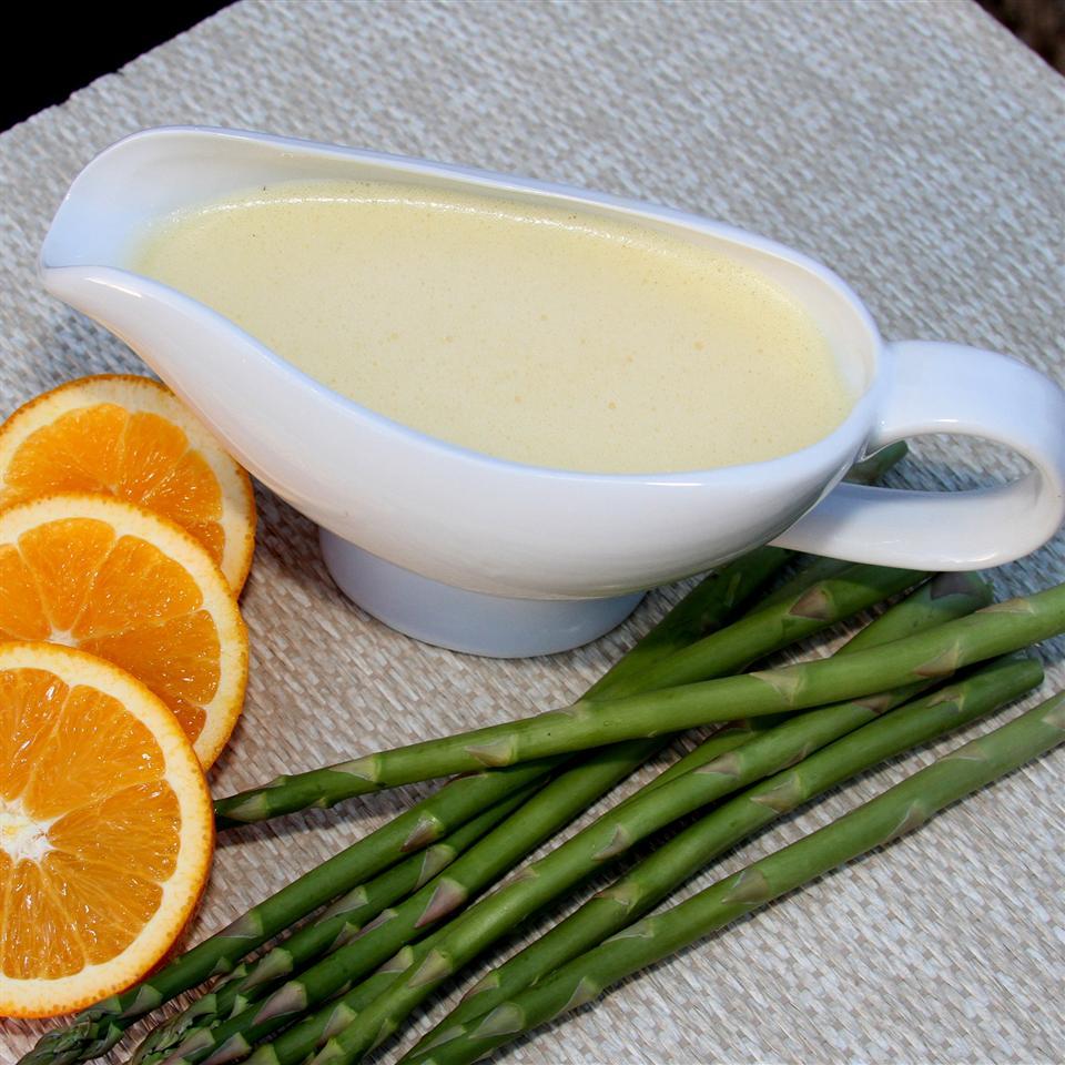 Orange Hollandaise Sauce