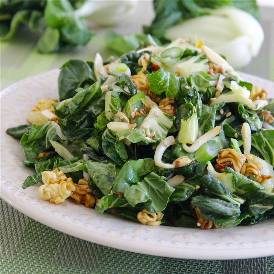 Bok Choy Ramen Salad Heather Roscelli