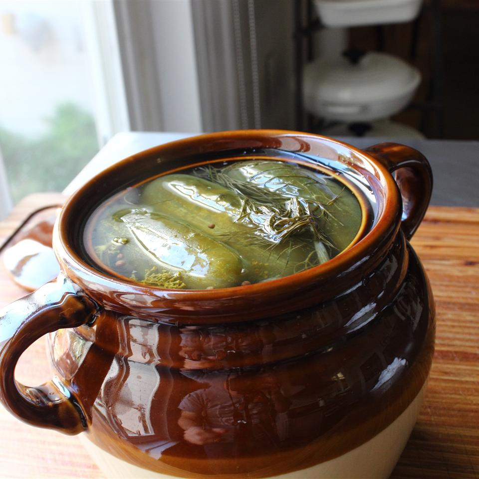 Homemade Dill Pickles image