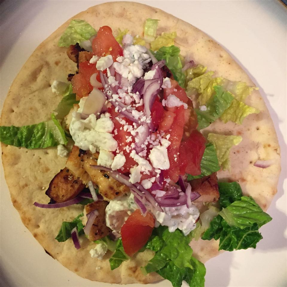 Easy Chicken Gyro Roque Aviles