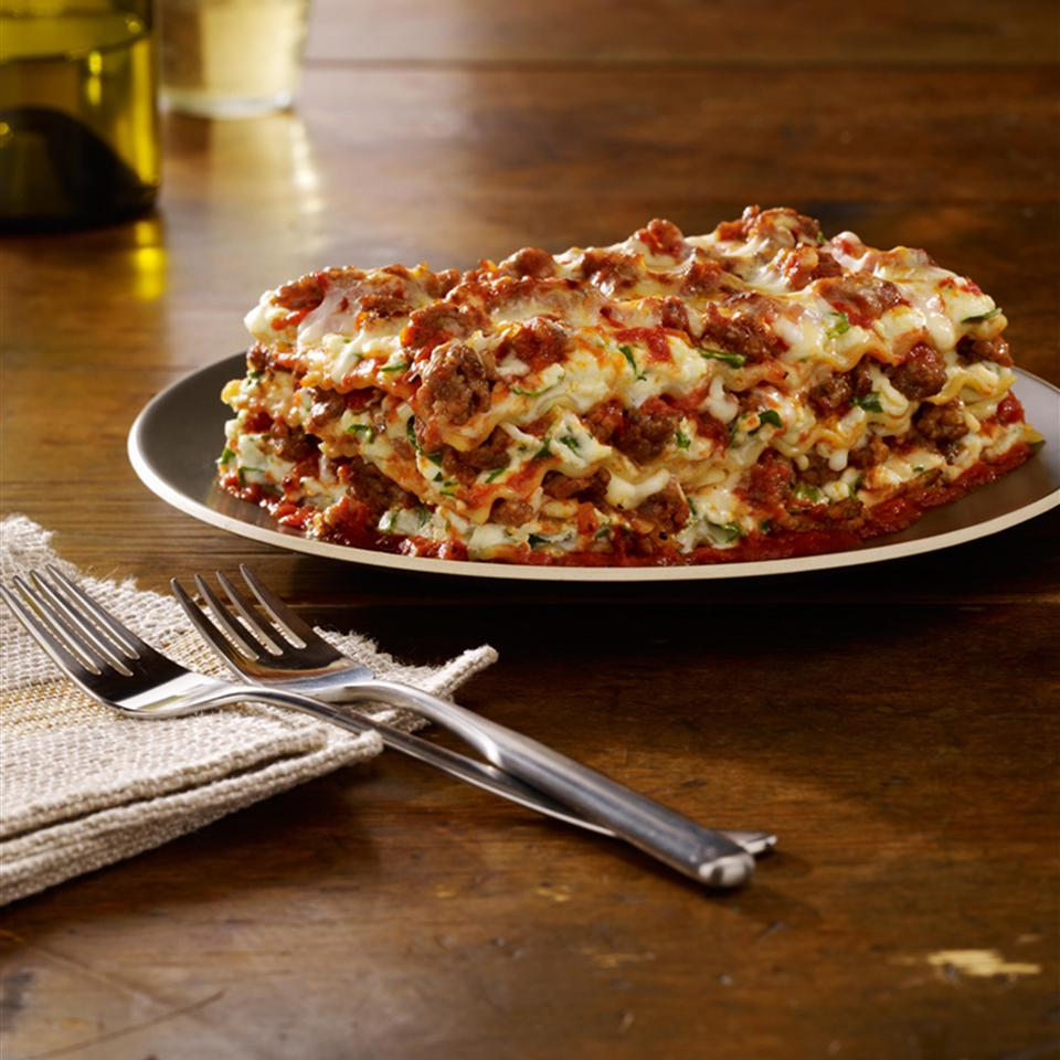 Johnsonville® Italian Sausage Lasagna image