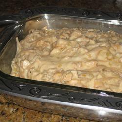 Classic Chicken Tetrazzini