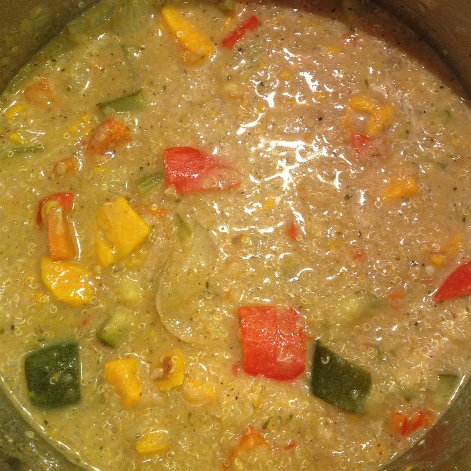 African Quinoa Soup