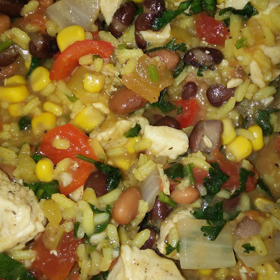 Cilantro Chicken and Rice Jenny