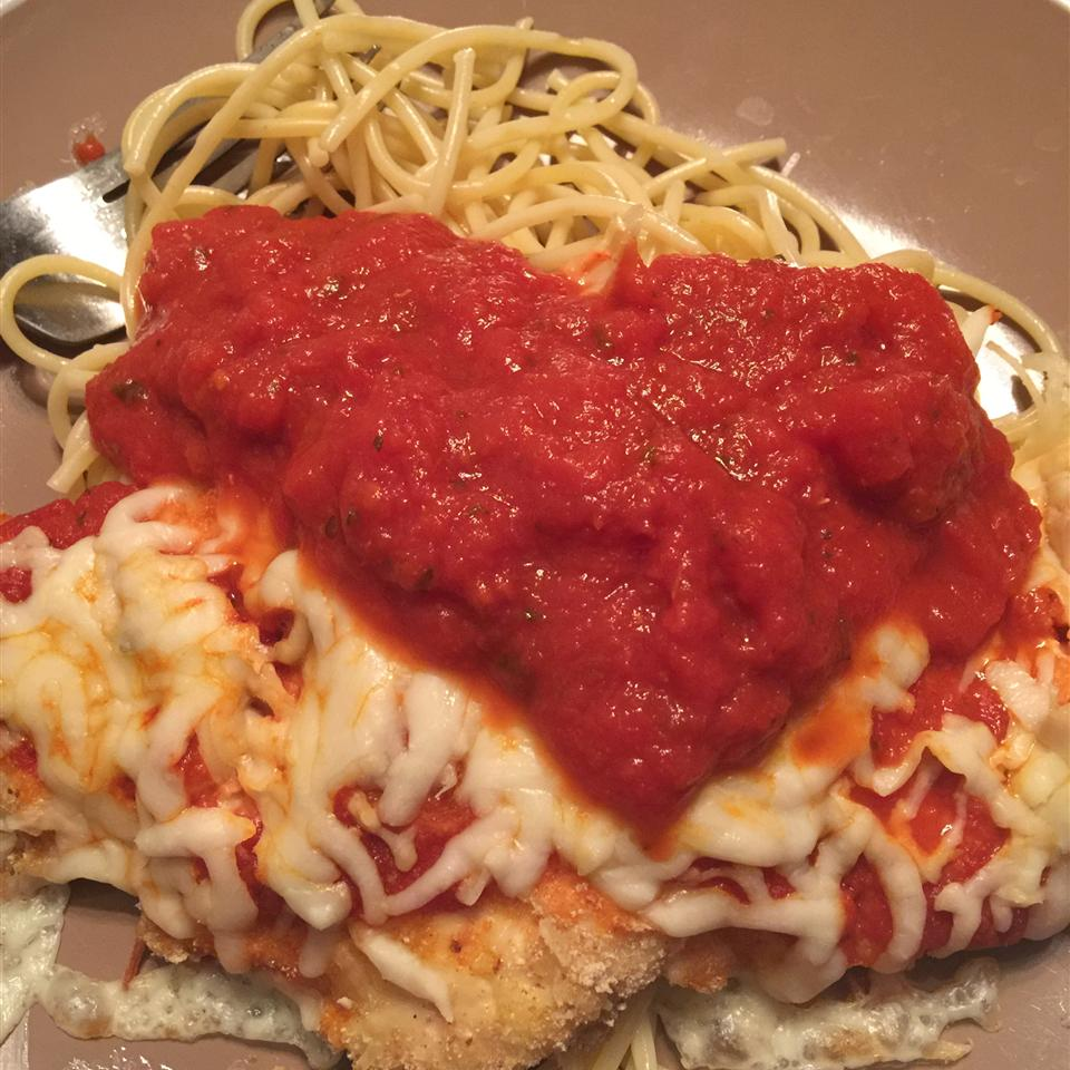 Weeknight Baked Chicken Parmesan Christine Jacobs