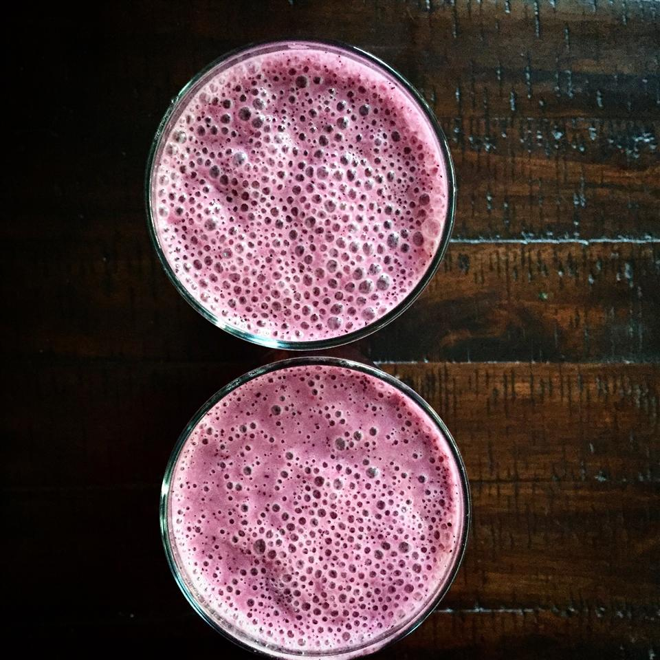 Berry Coconut Smoothie Alli Shircliff