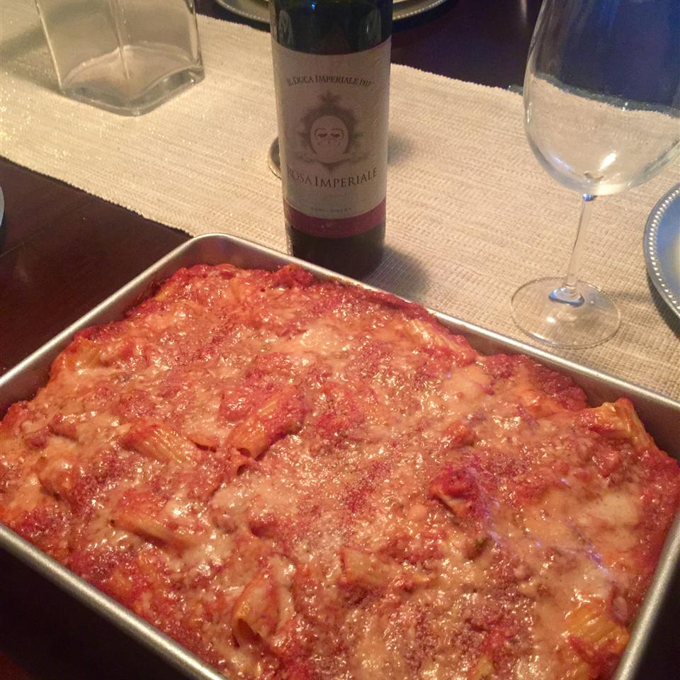 Rigatoni with Italian Chicken Felisha Floyd