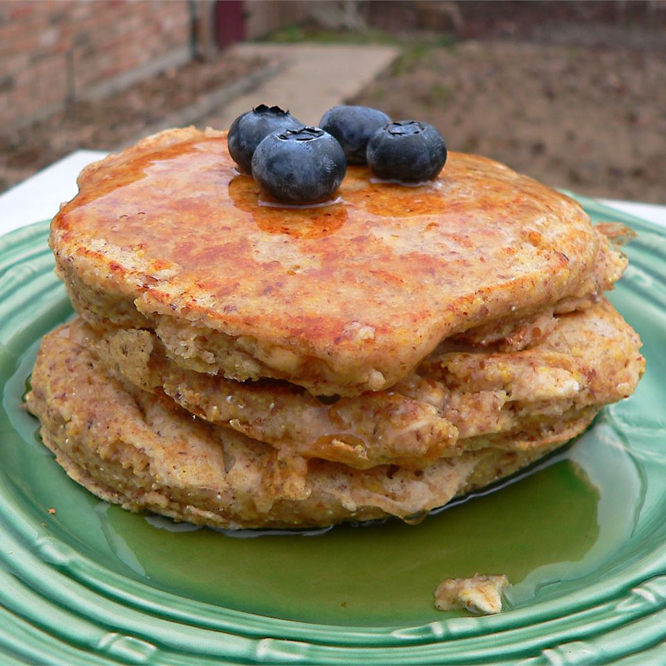 Whole Grain Pancakes Jennifer Goss