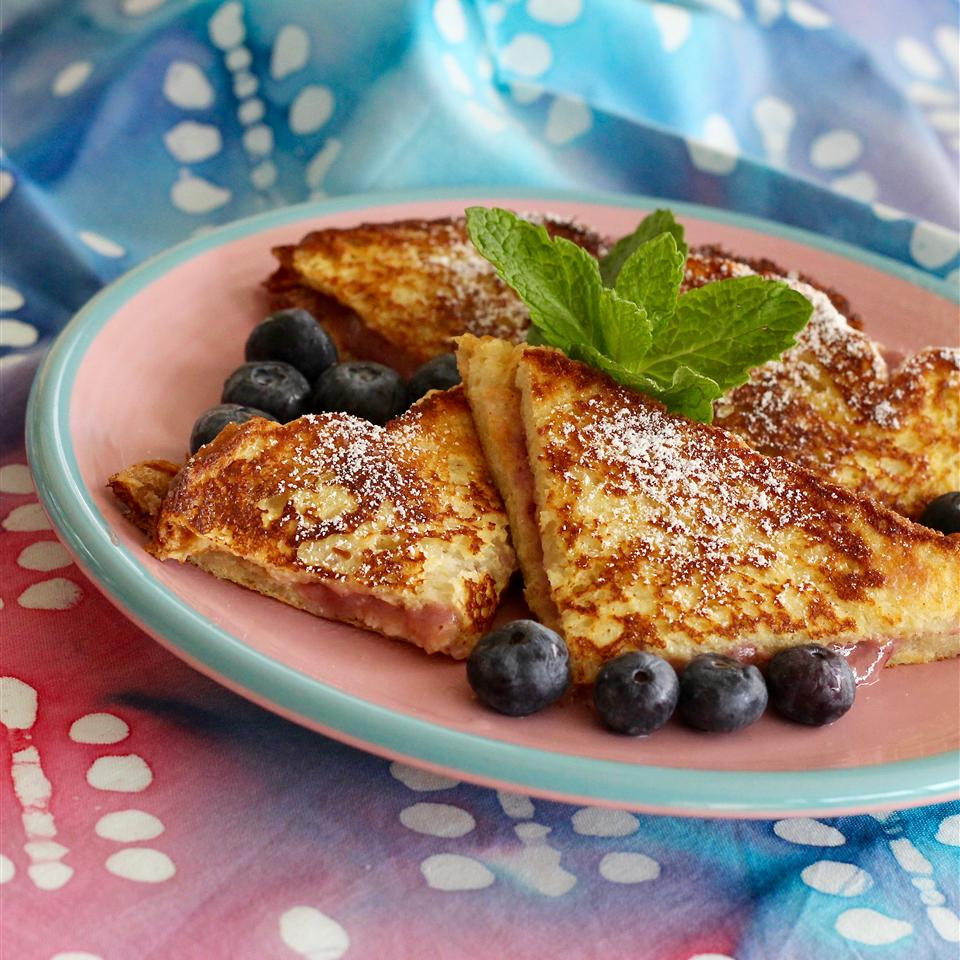 Fruity French Toast Sandwiches