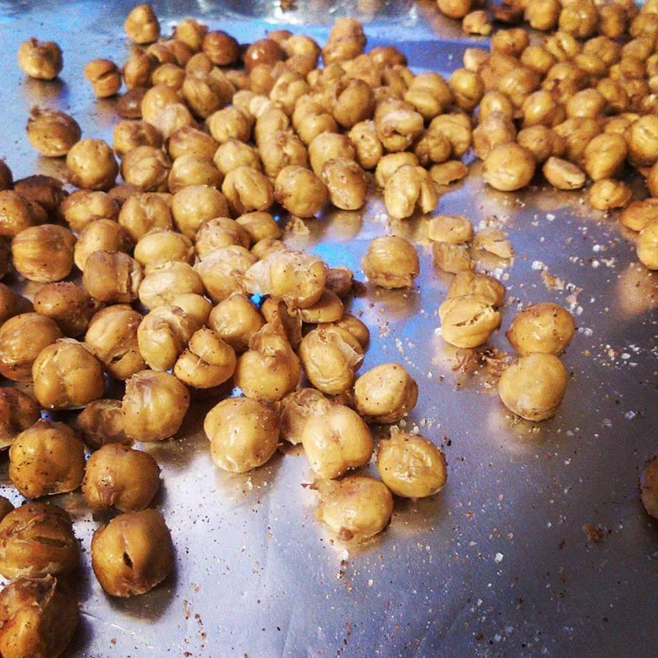 Perfectly Dry Roasted Chickpeas Recipe Allrecipes