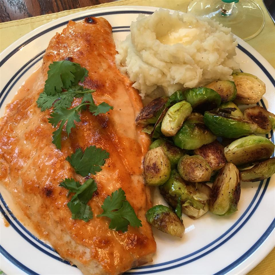 BBQ Broiled Red Snapper