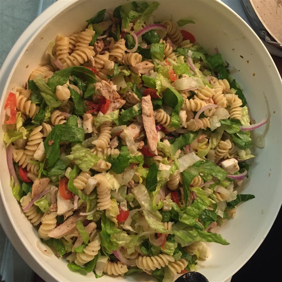 Grilled Chicken and Pasta Salad isaac