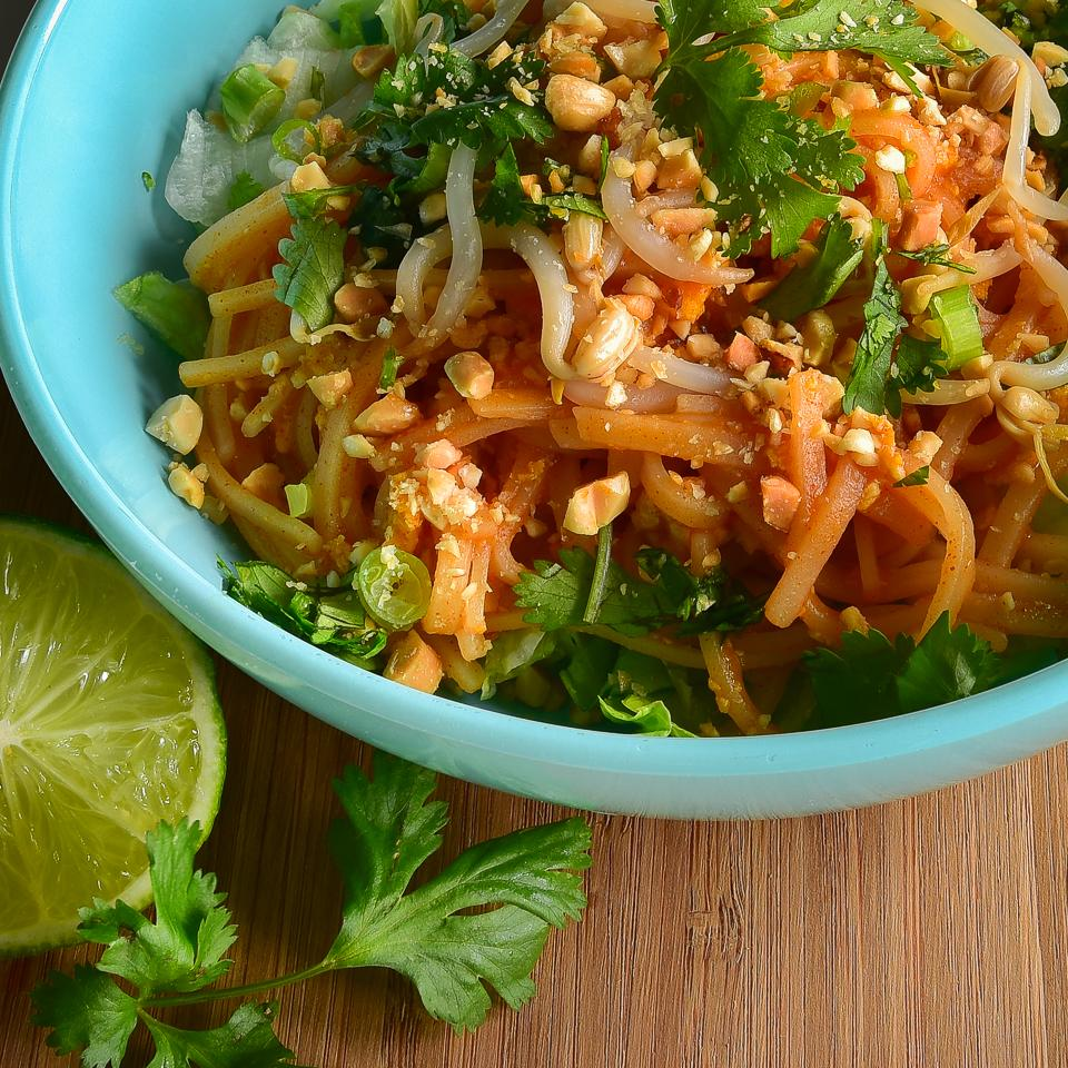 Carrie's Pad Thai Salad