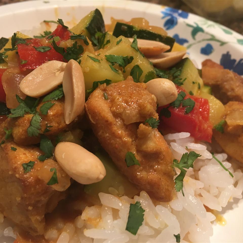 Chef John's Peanut Curry Chicken