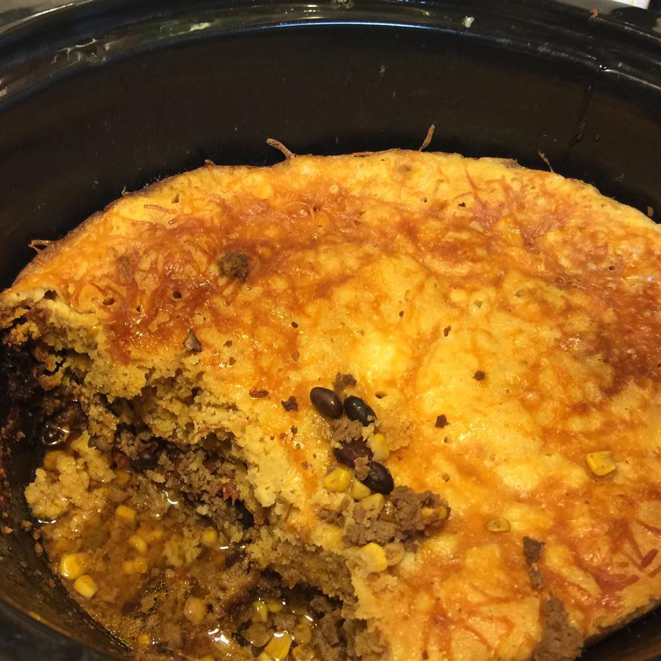 Slow Cooker Tamale Pie dahsubears
