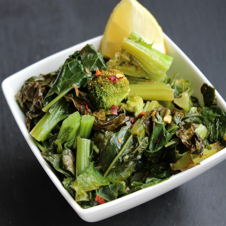 Sicilian-Style Broccoli Rabe
