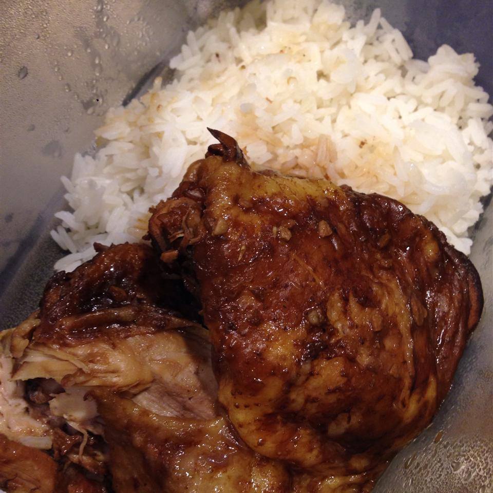 Adobo Chicken with Ginger Trish