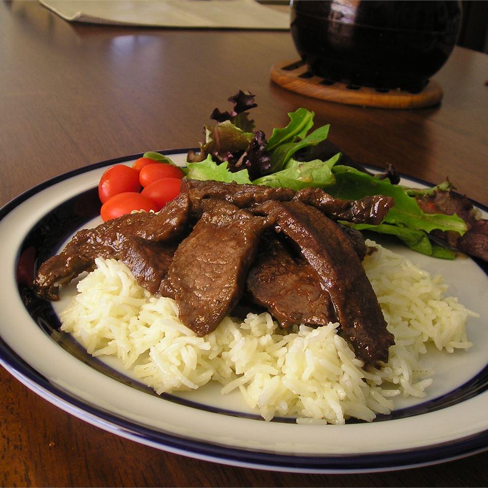 Marinated Flat Iron Steak