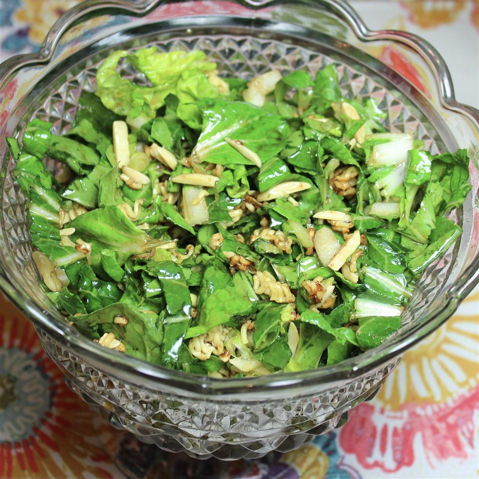 Bok Choy Ramen Salad
