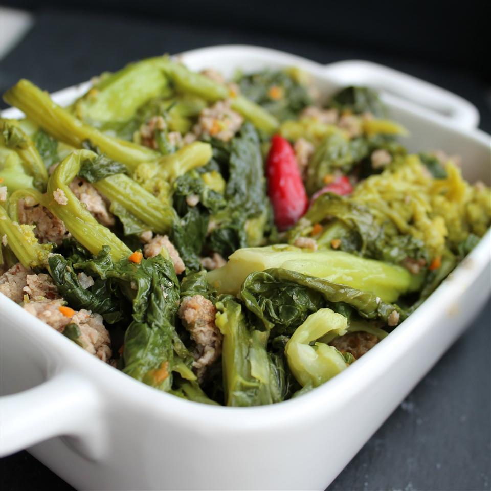 Broccoli Rabe with Sausage JessJ510