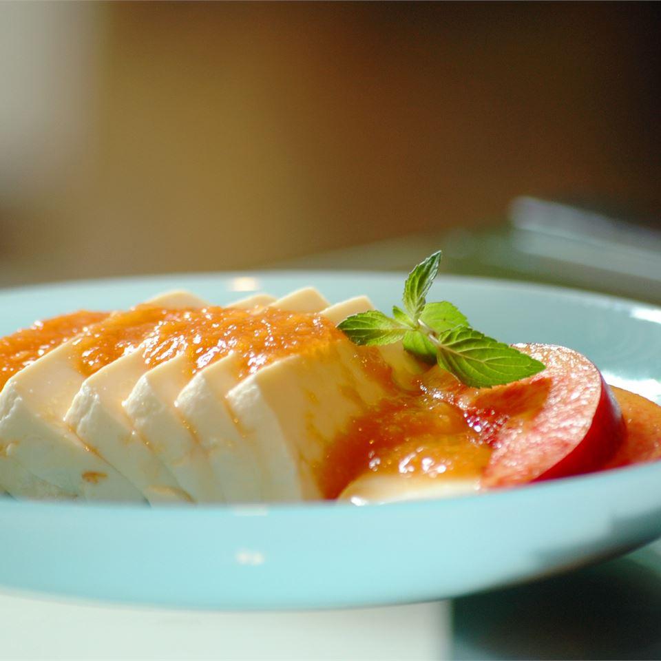 Delicate Tofu in Apricot-Honey Sauce CHAMMI