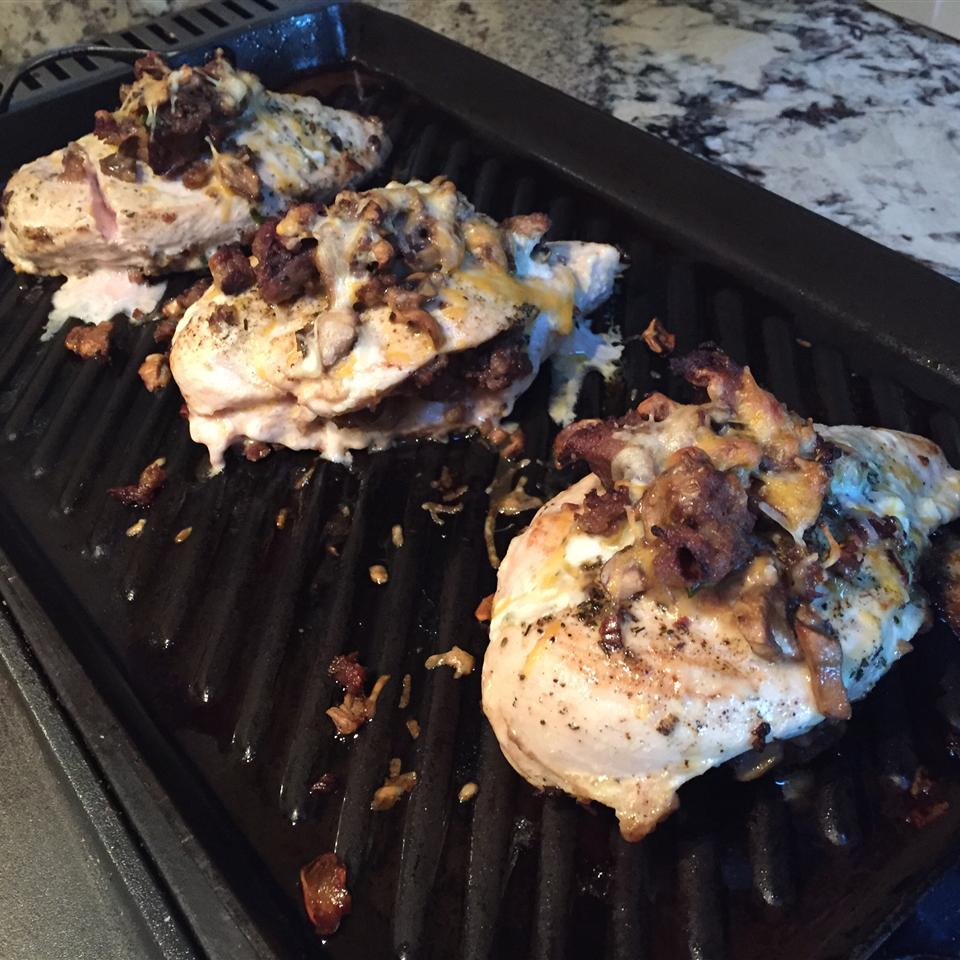 Creolized Stuffed Chicken Breasts HaleyMarie