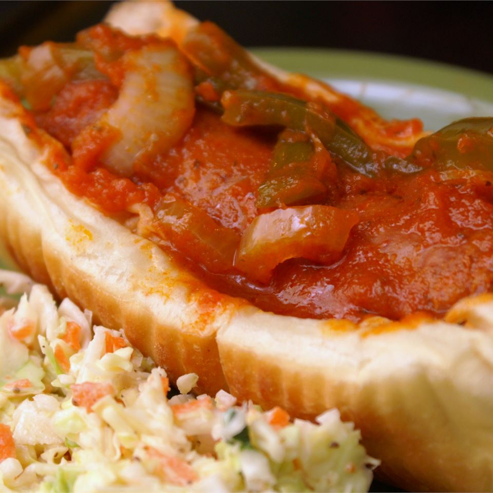 Slow Cooker Sausage with Sauce_image
