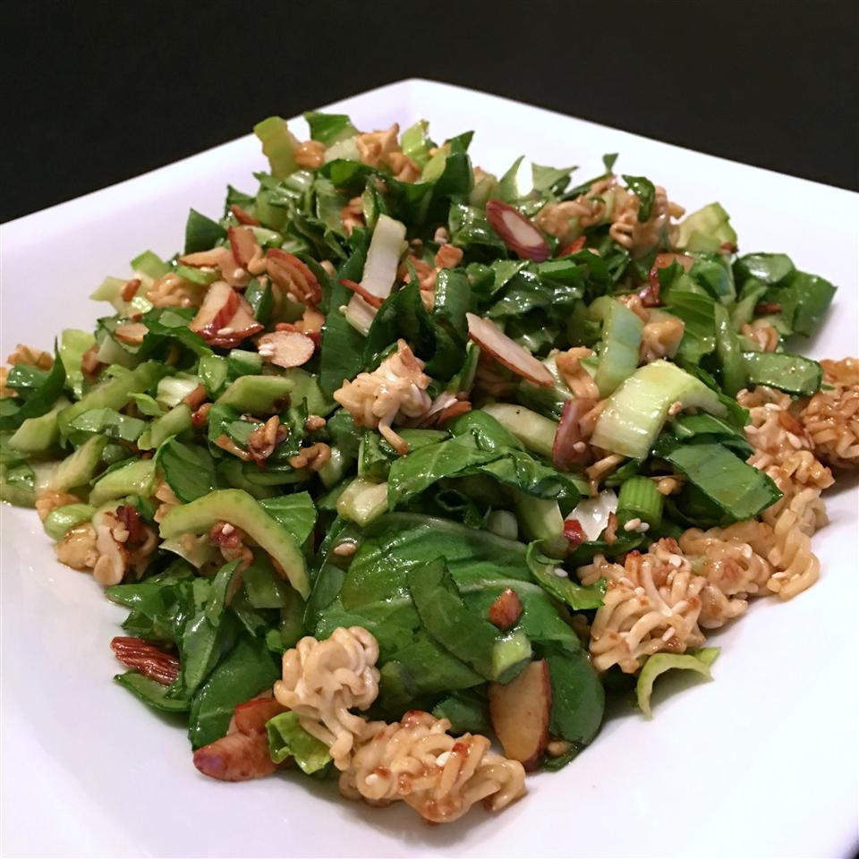 Bok Choy Ramen Salad Happyschmoopies